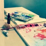 watercolor painting- Photography by ©CountryWomanPaints, L.Adelaide